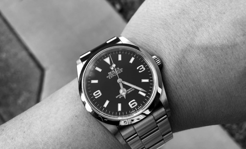 Rolex Explorer Monochrome