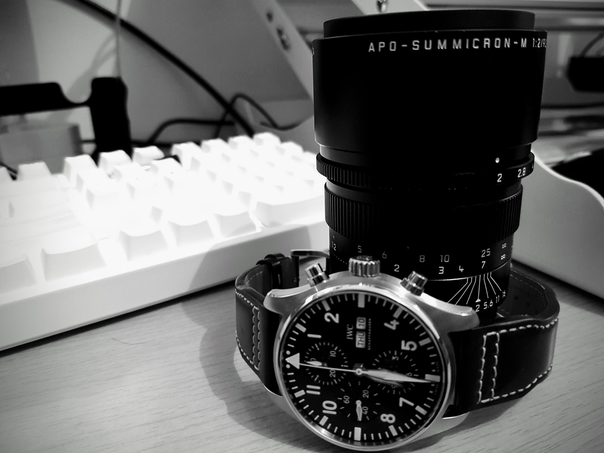 IWC Watch Lens Leica