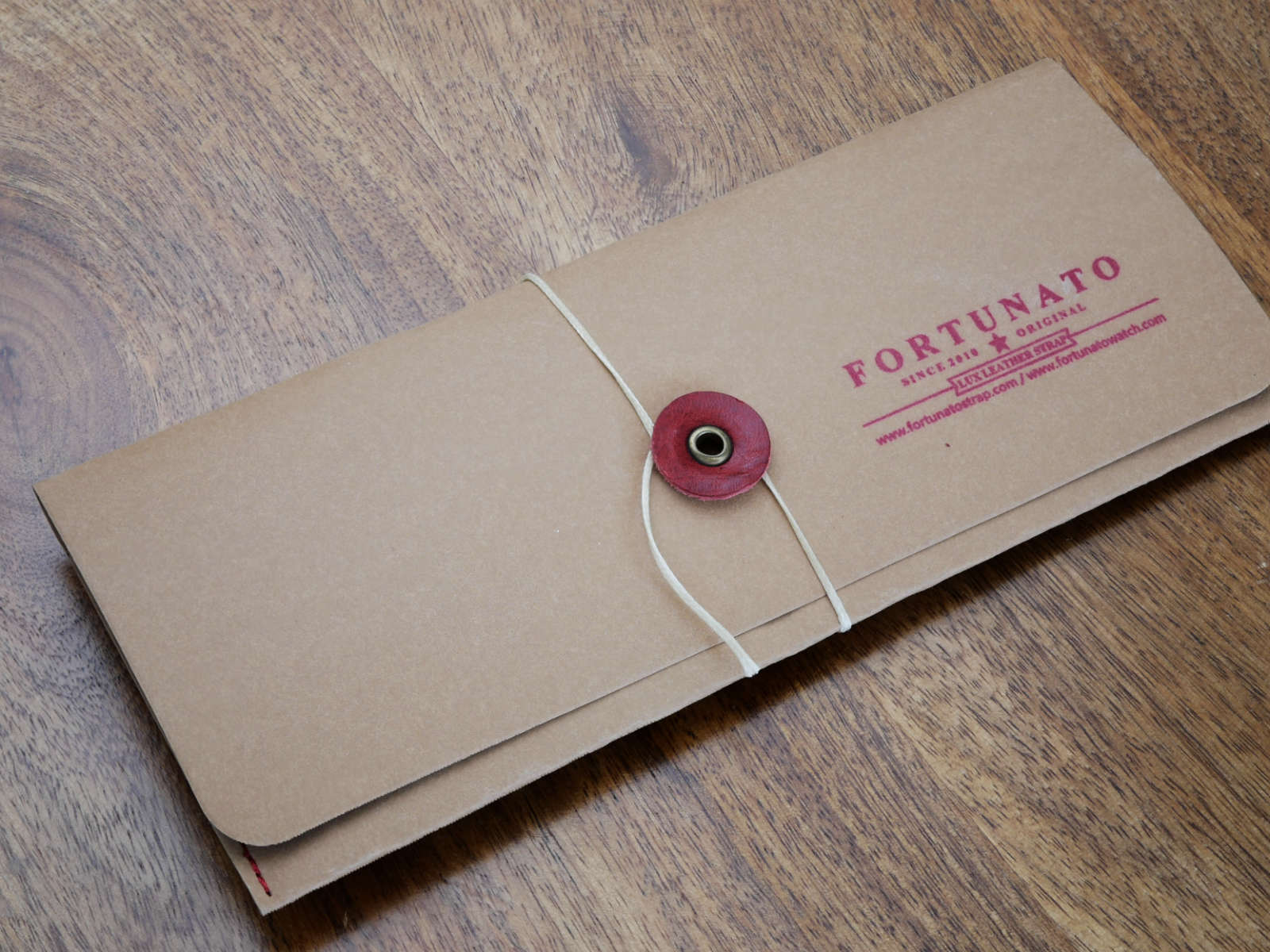 Fortunato Watch Strap Packaging