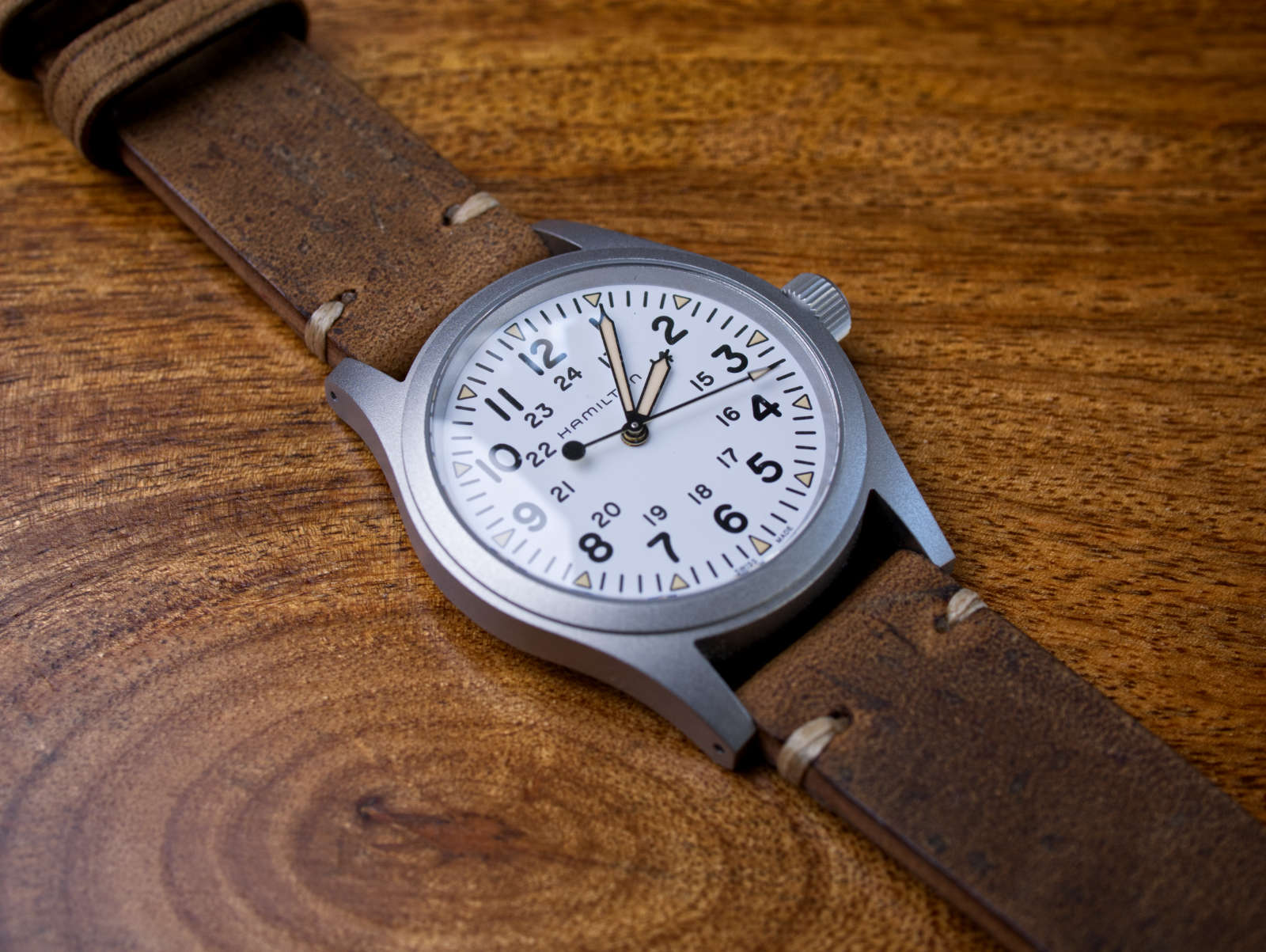 Fortunato Watch Strap Hamilton